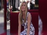 Jennifer Aniston And Justin Theroux Share Kiss As She&#039 S Awarded Walk Of Fame Star