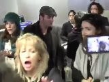 Jean Dujardin Mobbed At L.A. Airport