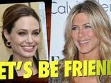 Jennifer Aniston Sends Angelina Jolie Flowers
