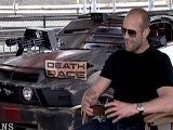 JASON STATHAM NOT AFRAID TO GET DIRTY IN DEATH RACE