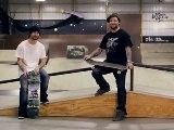 How To Skateboard With Bam Margera: Easy Tricks Boardslide Railslide