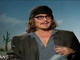 Johnny Depp, Abigail Breslin Talk Rango