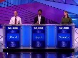 Jeopardy! Season 28.25-4 - David, Vijay, And Jessamine #6329