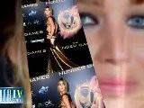 Jennifer Lawrence Stuns On The Red Carpet At Hunger Games Premiere