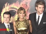 Jennifer Lawrence Liam Hemsworth Josh Hutcherson THE HUNGER GAMES PREMIERE