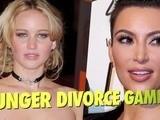 Jennifer Lawrence Compares Hunger Games To Kim Kardashian' S Divorce