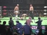 Jun Akiyama & Akitoshi Saito Vs Go Shiozaki & Keiji Muto NOAH