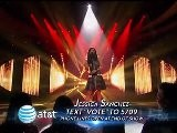 Jessica Sanchez, Top 10 Performs American Idol 2012