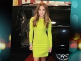 Jennifer Lopez Rocks Neon Mini