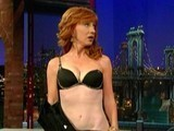 Kathy Griffin Strips To Her Bra
