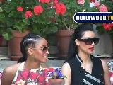 Kim Kardashian Takes Ciara Out To Lunch