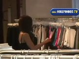 Kate Beckinsale Shops On Robertson Blvd
