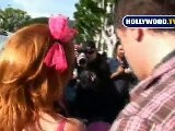 Kathy Griffin Gets Knocked Out By Her Own Sound Guy
