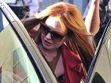 Lindsay Lohan Goes Back To Being A Redhead