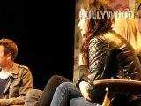 Kristen Stewart, Charlize Theron, Emma Stone At WonderCon 2012