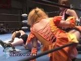 Kayoko Haruyama & Hamuko Hoshi Vs Mochi Miyagi & Nana Kawasa Ice Ribbon