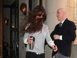 Katie Holmes Gets Caught In The Wind