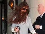 Katie Holmes Gets Caught In The Wind In New York