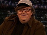 Late Night With Jimmy Fallon Michael Moore, Part 1