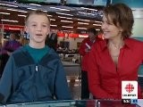 Leah Hendry Reports On Some Highlights Of The CBC&#039 S 25th Anniversary Food Bank Day In Vancouver