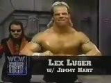 Lex Luger Vs Cobra + Hulk Hogan Macho Man Randy Savage Promo