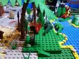 LEGO Pirates Of The Caribbean The Cannibal Escape 4182 Stop Motion Movie Build