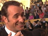 Live From The Red Carpet 2012 SAG Awards: Jean Dujardin
