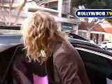 Laura Dern Picks Up Daughter From Pre School