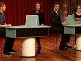 Late Night With Jimmy Fallon Pyramid With Maya Rudolph, Part 1