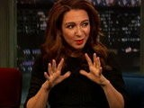 Late Night With Jimmy Fallon Maya Rudolph, Part 1