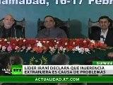 La Paja En El Ojo Ajeno- Ir&aacute N Acusa A Injerencia Extranjera De Causar Problemas