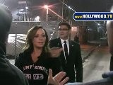 Leah Remini Grills Paparazzo At Jimmy Kimmel Live! LOL!