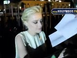 Lady Gaga And Amber Heard Leave The Trevor Project&#039 S 2011 Trevor Live!