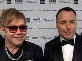 Live From The Red Carpet 2012 Oscars: Elton John