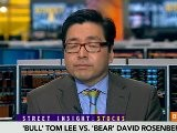 Lee, Rosenberg Debate Outlook For U.S. Stocks
