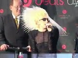 Lady Gaga Celebrity Press Conference Famous Celeb Interview