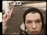 Milla Jovovich On The Set Of Resident Evil Retribution Part 1