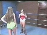 Michelle Madison Vs Tanya Two UK Teenage Sisters Pro Wrestling
