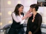 Monica Bellucci & Beatrice Dalle Hot Kiss TV Interview