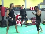 Mau Thai Kickboxing Training Techniques