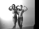 Melody Spetko And Roxie Rain - Female Bodybuilders