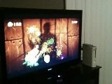 My Dad Playing Fruit Ninja Kinect