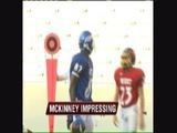 McKinney Impressing In Workouts