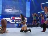 Michelle McCool, Alicia Fox And Layla Vs Gail Kim, Melina And Eve Torres - Smackdown 6.5.2009