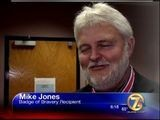 Mike Jones Honored By Congress For Bravery
