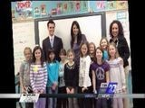 Myles And Kristen Visit Local Students