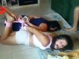 Mother And Daughter Hogtied