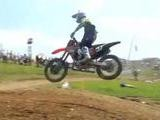 Motorcross Team Pit Pass At The High Point Nationals