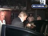 Michael Douglas And Catherine Zeta-Jones Eat At Mr Chow