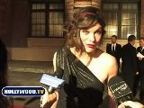 Milla Jovovich Talks About Her Body